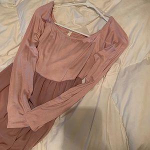 Pink maternity dress NEVER WORN